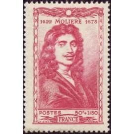 France num Yvert 612 ** MNH Moliere Année 1944