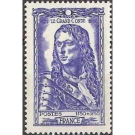France num Yvert 615 ** MNH Louis II Prince Conde Année 1944