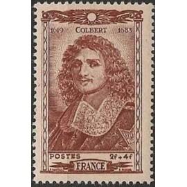 France num Yvert 616 ** MNH Colbert Année 1944