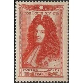France num Yvert 617 ** MNH Louis XIV Roi Année 1944