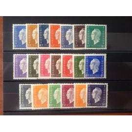 France num Yvert 682-701 ** MNH Série de Londres Année 1945