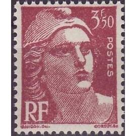 France num Yvert 716B ** MNH Marianne de Gandon Année 1945