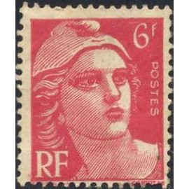 France num Yvert 721 ** MNH Marianne de Gandon Année 1945