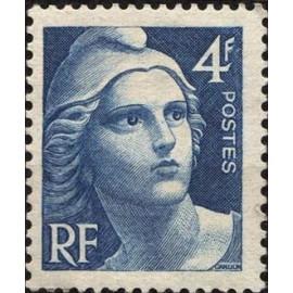 France num Yvert 725 ** MNH Marianne de Gandon Année 1945