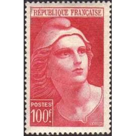 France num Yvert 733 ** MNH Marianne de Gandon Année 1945