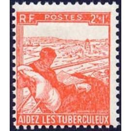 France num Yvert 736 ** MNH tuberculeux Année 1945