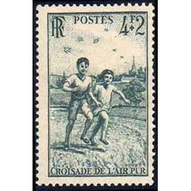 France num Yvert 740 ** MNH enfant Année 1945