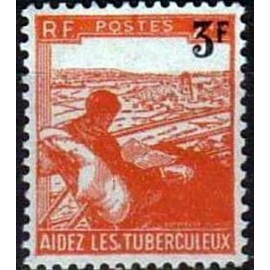 France num Yvert 750 ** MNH refugié Année 1946
