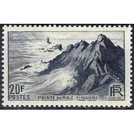 France num Yvert 764 ** MNH Raz Année 1946