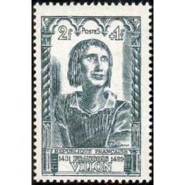 France num Yvert 765 ** MNH Villon Année 1946