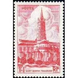 France num Yvert 772 ** MNH BASILIQUE Toulouse Année 1947