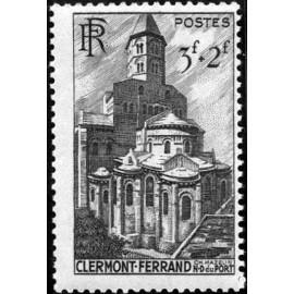France num Yvert 773 ** MNH Basilique Clermont 63 Année 1947