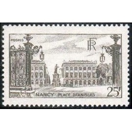 France num Yvert 778 ** MNH Stanislas Nancy Année 1947