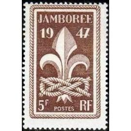 France num Yvert 787 ** MNH Jamboree Scout Année 1947