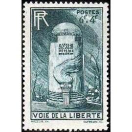 France num Yvert 788 ** MNH Voie de la Liberté Année 1947
