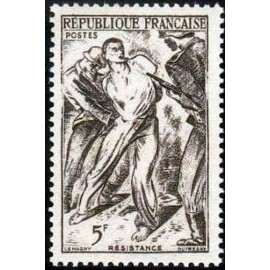 France num Yvert 790 ** MNH Resistance Année 1947