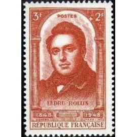 France num Yvert 796 ** MNH Ledru Rollin 1848 Année 1948
