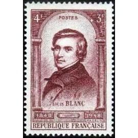 France num Yvert 797 ** MNH Louis Blanc 1848 Année 1948