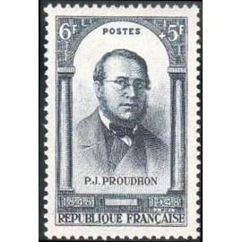 France num Yvert 799 ** MNH Proudhon 1848  Année 1948