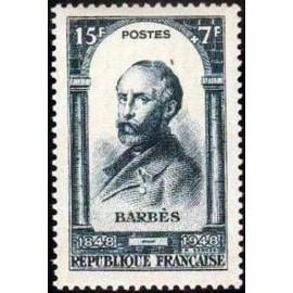 France num Yvert 801 ** MNH Barbes Année 1948