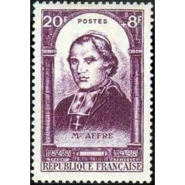 France num Yvert 802 ** MNH Affre 1848 Année 1948