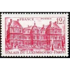 France num Yvert 803 ** MNH Paris Palais Luxembourg Année 1948