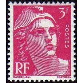France num Yvert 806 ** MNH Gandon  Année 1948