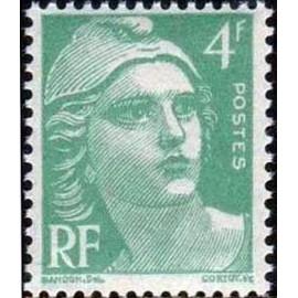 France num Yvert 807 ** MNH Gandon  Année 1948