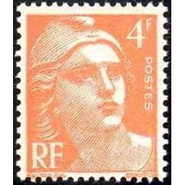 France num Yvert 808 ** MNH Gandon  Année 1948