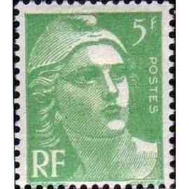 France num Yvert 809 ** MNH Gandon  Année 1948