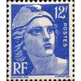 France num Yvert 812 ** MNH Gandon  Année 1948