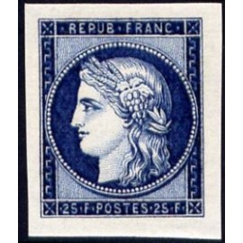 France num Yvert 831 ** MNH Cérès  1849 Année 1949
