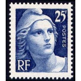 France num Yvert 833 ** MNH Gandon Année 1949