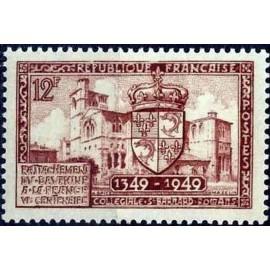 France num Yvert 839 ** MNH Romans drome Année 1949