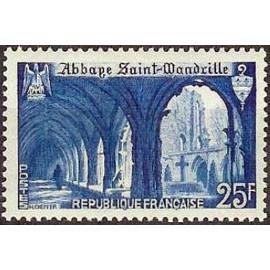 France num Yvert 842 ** MNH Wandrille Année 1949