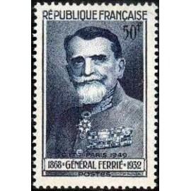 France num Yvert 847 ** MNH General Ferrié Année 1949