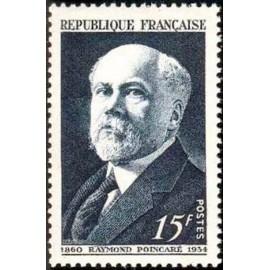 France num Yvert 864 ** MNH Poincaré Année 1950