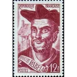 France num Yvert 866 ** MNH François Rabelais Année 1950