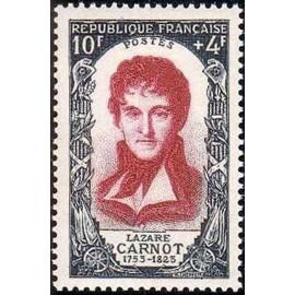 France num Yvert 869 ** MNH Lazare Carnot Année 1950