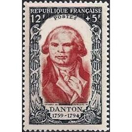 France num Yvert 870 ** MNH Jacques Danton Année 1950