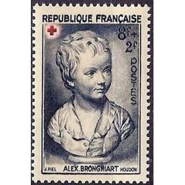 France num Yvert 876 ** MNH Croix Rouge Année 1950