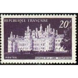 France num Yvert 924 ** MNH Château de Chambord Année 1952
