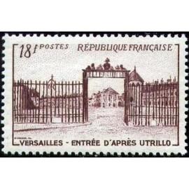 France num Yvert 939 ** MNH Versailles Utrillo Année 1952
