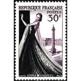 France num Yvert 941 ** MNH vendome Paris Année 1953