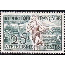 France num Yvert 961 ** MNH JO helsinki 1952 Année 1953