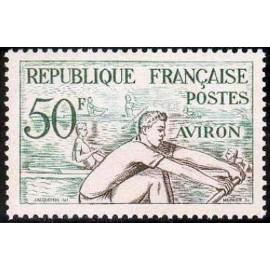 France num Yvert 964 ** MNH JO helsinki 1952 Année 1953