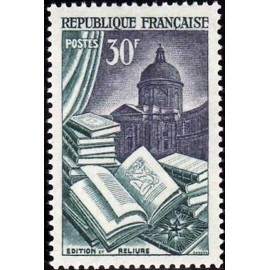 France num Yvert 971 ** MNH reliure Luxe Année 1954