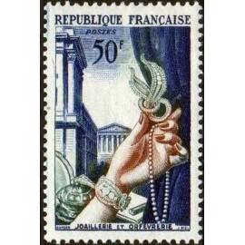 France num Yvert 973 ** MNH bijoux Luxe Année 1954