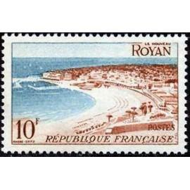 France num Yvert 978 ** MNH Royan Année 1954