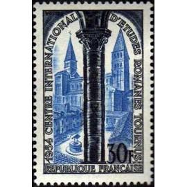 France num Yvert 986 ** MNH Tournus Année 1954